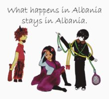 What Happens in Albania Stays in Albania Kids Clothes
