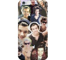 harry styles collage iPhone Case/Skin