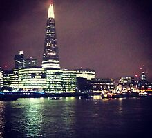 London at Night by kaddl