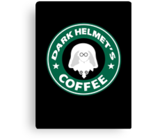 Lord Helmet's Coffee Canvas Print