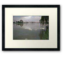 Wachtel Lagoon - Moorook Framed Print