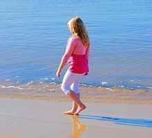 Lovely Day For the Beach by Bev Woodman