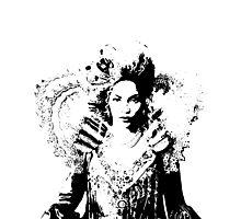 DIVA II (white) Photographic Print