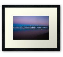 Secret Fishing Spot Framed Print