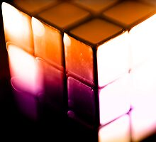 Rubix Cube - Lenbaby gradient effects by nayamina