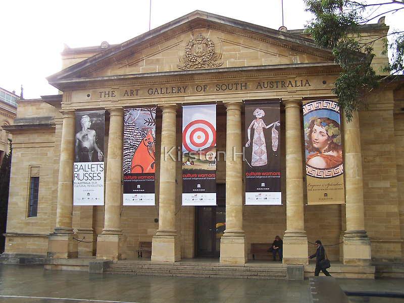 Adelaide Art Gallery (by day) by Kirsten H