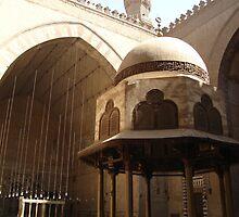 Mosque Interior by Marmadas