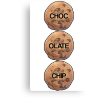 Chocolate Chip Canvas Print