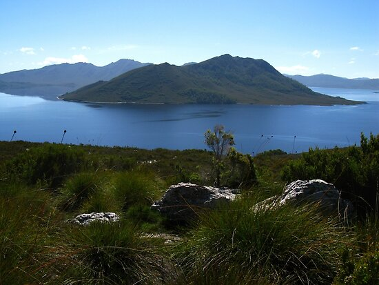View to Lake Pedder #1 from Red Knoll Lookout by Marilyn Harris