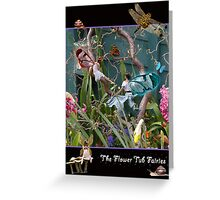 The Flower Tub Fairies Greeting Card