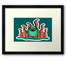 "Tidehunter - ""Leviatan"" - DOTA2 Framed Print"