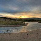 Inverness Beach Sunrise Nova Scotia by EvaMcDermott