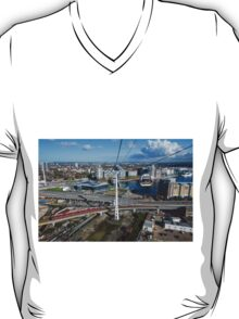 Thames Cable Car over London's Docklands T-Shirt