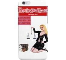 Boobapalooza: Balancing the Scales of Justice iPhone Case/Skin