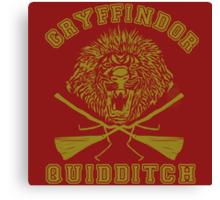 Gryffindor Quidditch Canvas Print