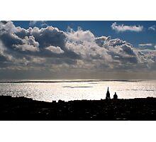 Sky, Sea and Land Photographic Print