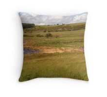 Grassy Shores Throw Pillow