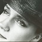 My sister in Helena's hat - 1996 by Peter Harpley