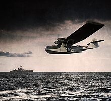RAF Catalina  by J Biggadike