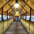 Railway Footbridge by relayer51