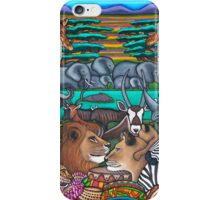 Colours of Africa iPhone Case/Skin