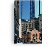 Old Statehouse Revisited Canvas Print