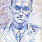 Marco Cristofori portrait by Francesca Romana Brogani