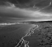 Lonely Beach by EvaMcDermott