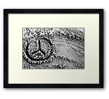 Another Peace To The Puzzle. Framed Print