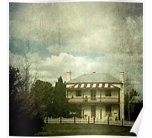 The Station Master's Cottage, Uralla, New South Wales Poster
