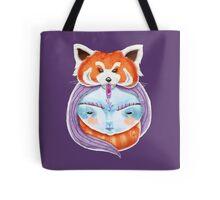 Huriyah & Red Panda Tote Bag