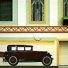 Art Deco car, windows & decoration. by ronsphotos