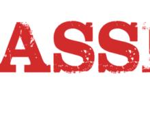 Smart Good Looking Bassist T-shirt Sticker