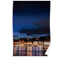 Lucerne by night Poster