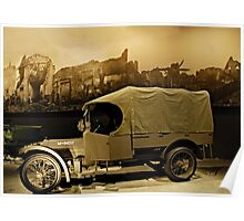 WW1 Army Truck Poster
