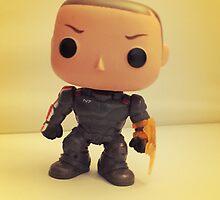 Commander Shepard by FendekNaughton