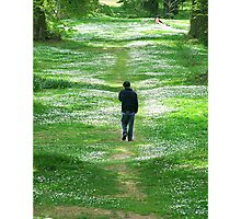 A Walk With My Soul Photographic Print