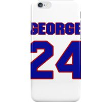 Basketball player George McCloud jersey 24 iPhone Case/Skin