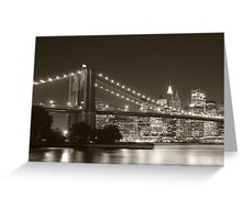 Down Town - New York Greeting Card