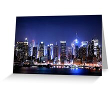 New York Blues  Greeting Card