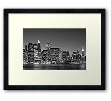 On The East Side - New York Framed Print