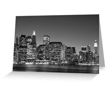 On The East Side - New York Greeting Card