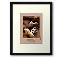 Autumn Moon Framed Print