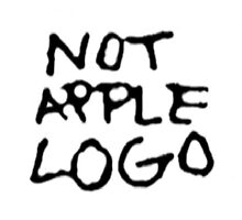 Not Apple Logo by LaraCroftiing