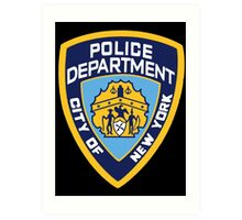 NYPD Badge (Also from Brooklyn 99) Art Print