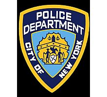 NYPD Badge (Also from Brooklyn 99) Photographic Print