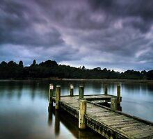 Mountain Lake by Annette Blattman