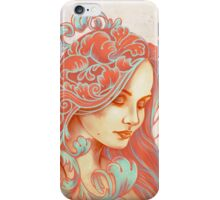 Filigree Face iPhone Case/Skin