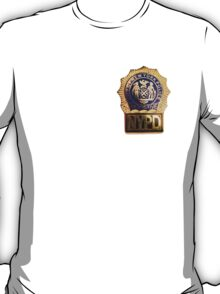 NYPD Detective Badge T-Shirt