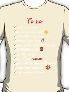 To Do List - Disney Style T-Shirt